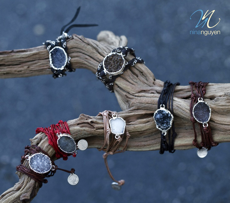 ninaN leather bracelets